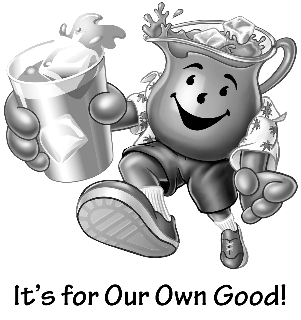 Free coloring pages for Kool aid man coloring pages
