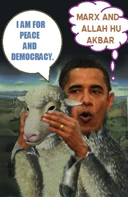 OBAMA IS A WOLF IN sheep'S clothing