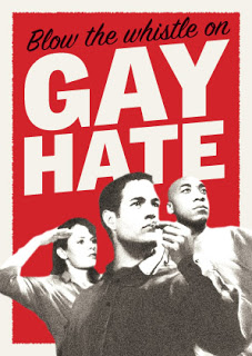 gay hate poster