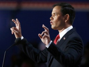 Image: U.S. Senator Rubio addresses the final session of the 2012 Republican National Convention in Tampa
