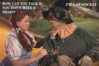 wizard of oz no brain democrat