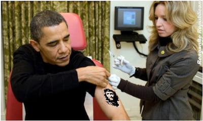 Obama Che tattoo